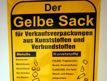 Gelber Sack Information